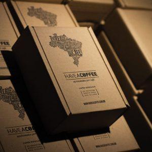 Café surpresa em grãos ou moído 500g (dois pacotes de 250g)